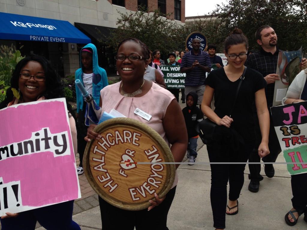 Unity March X Carol smiling
