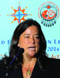 Jody Wilson-Raybould, the first indigenous Minister of Justice in Canadian history.