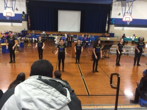 The Royals Step Team performs!