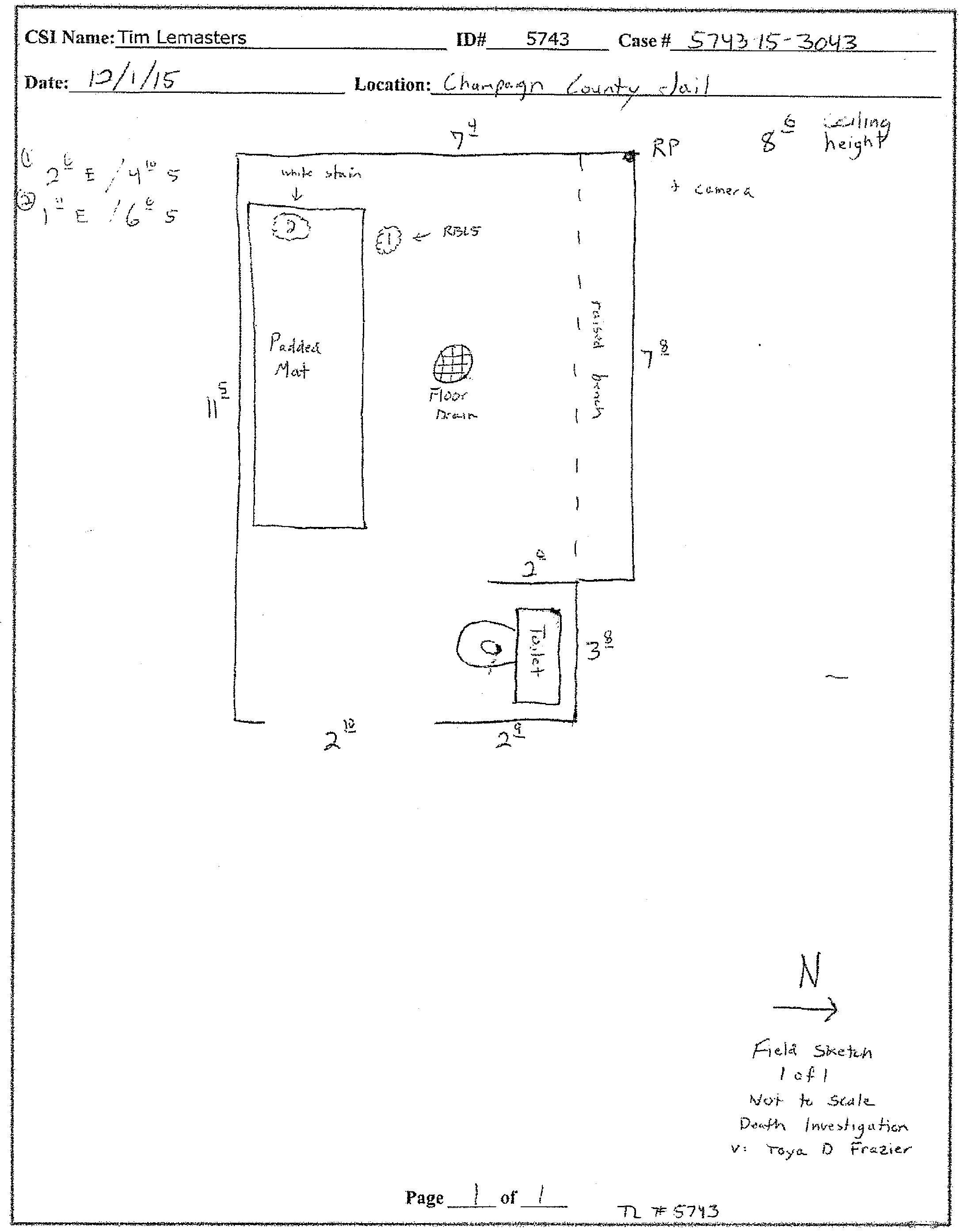 Toya Frazier cell